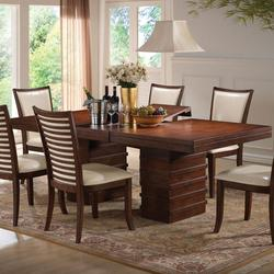 Pacifica Double Pedestal Casual Dining Table