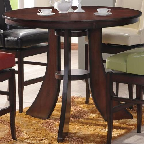 Acme Furniture Vinson Round Bar Table with Flat Legs : 60088 from www.luisfurniturestyle.com size 500 x 500 jpeg 39kB