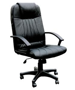 Arthur Executive Chair with Pneumatic Lift and Accent Welting