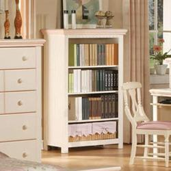 Crowley Traditional Youth Bookcase with Two Baskets