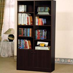 Verden Verden Book Shelf Cabinet with 8 Shelves and 2 Doors