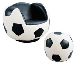 Sporty Youth Sport Chairs and Ottomans