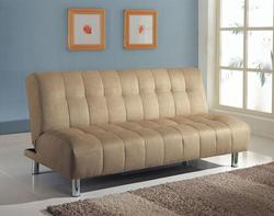 Sylvia Contemporary Beige Adjustable Sofa
