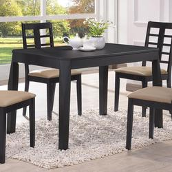 Huy Casual Black Dining Table