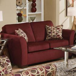 Jayda Loveseat with Accent Pillows