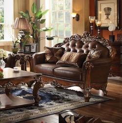 Vendome Loveseat with Tufted Back