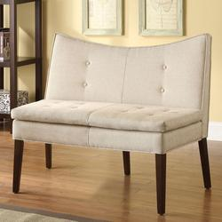 Galen Accent Love Chair with Button Tufting