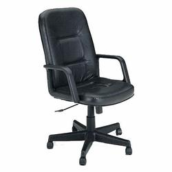 Andrew Genuine Leather Executive Chair with Pneumatic Seat Height Adjustment and 5-Point Caster Base