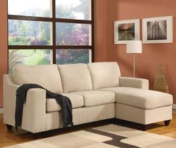 5913 Vogue Reversible Chaise Two Piece Sectional