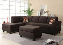 Donovan Contemporary Reversible Sectional Sofa