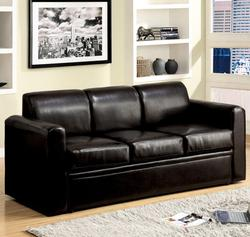 Costa Espresso Sofa Queen Sleeper with Track Arms