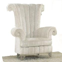 Parr Accent Chair with Rolled Arms and Back