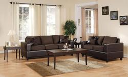 Monaco Living Room Sofa and Loveseat