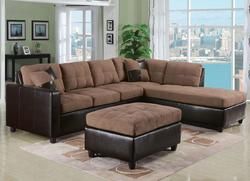 Milano Saddle Stationary Living Room Group