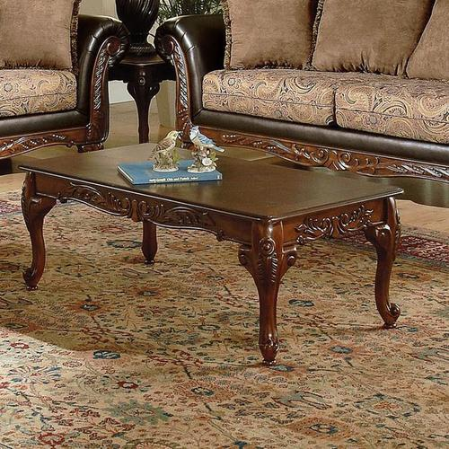 Acme Furniture Fairfax Traditional 3 Piece Coffee End Table Set