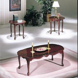 Essex 3 Piece Coffee and End Table Set with Pad Feet