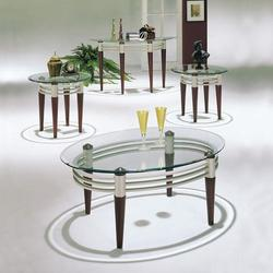 Marseille Contemporary 3-Piece Occasional Coffee and End Table Set