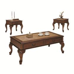Trudeau Three Piece Occasional Table Set