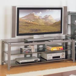 Altra Metal Glass Top TV Unit