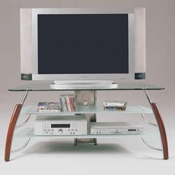 Martini Wood and Glass TV Stand