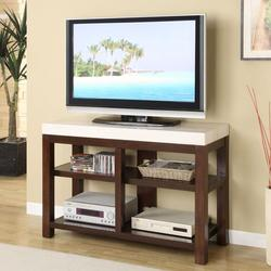Kyle Contemporary Entertainment Center W/Faux Marble