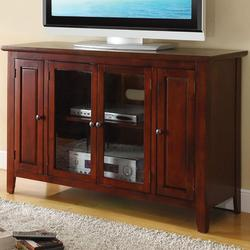 Vida TV Stand with 4 Doors and 2 Shelves