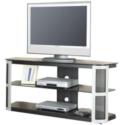 Bardrick 58-Inch TV Stand With Black Tempered Glass