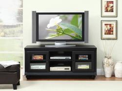 Barra Black TV Stand