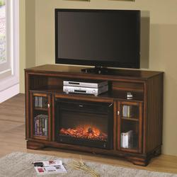 Calvert Television Stand w/ Fireplace - Heater
