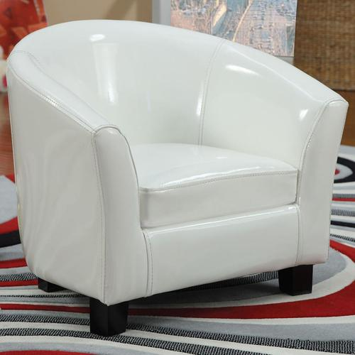 Cady Pu Kid Upholstered Chair