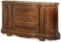 Cortina Ornate Traditional Three-Drawer Two-Door Dresser