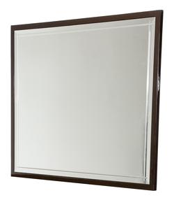 Hollywood Loft Rectangular Dresser Mirror with Beveled Details