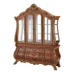 Chateau Beauvais Mirror Backed China Cabinet