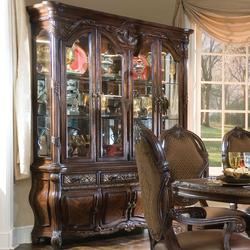 Essex Manor China Cabinet with Glass Doors