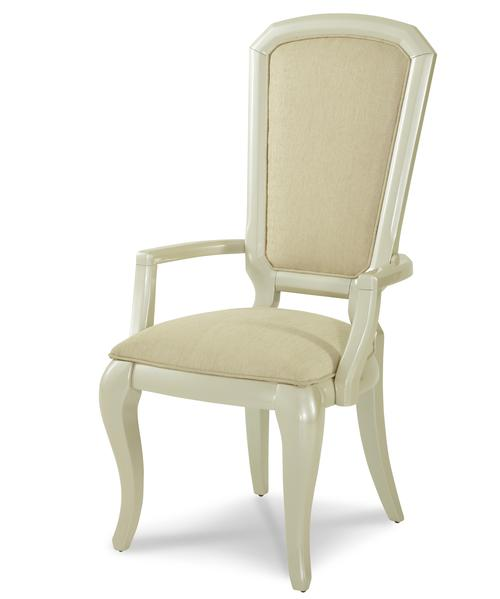 Aico Amini Innovation After Eight Dining Arm Chair With Cabriole Legs