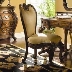 Palais Royale Vanity Chair with Upholstered Seat & Back