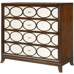 Motif Media Chest with 4 Drawers