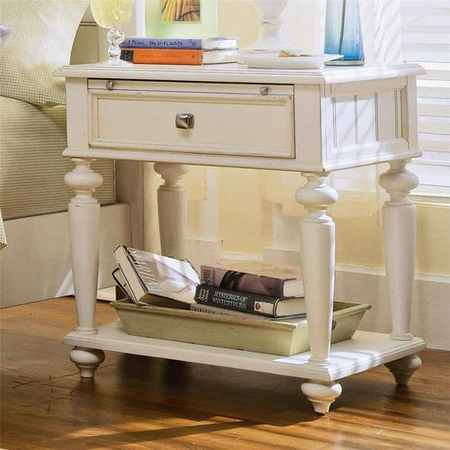 American Drew Camden Light Leg Nightstand With 1 Drawer