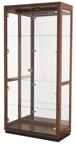 Miramar Display Cabinet with 4 Glass Shelves