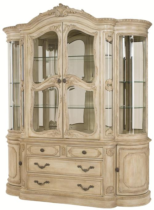 Captivating Jessica McClintock Home   The Boutique Collection China Cabinet With  Classic Design Elements
