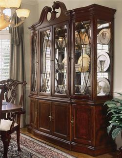 Cherry Grove 45th China Cabinet with Breakfront Doors