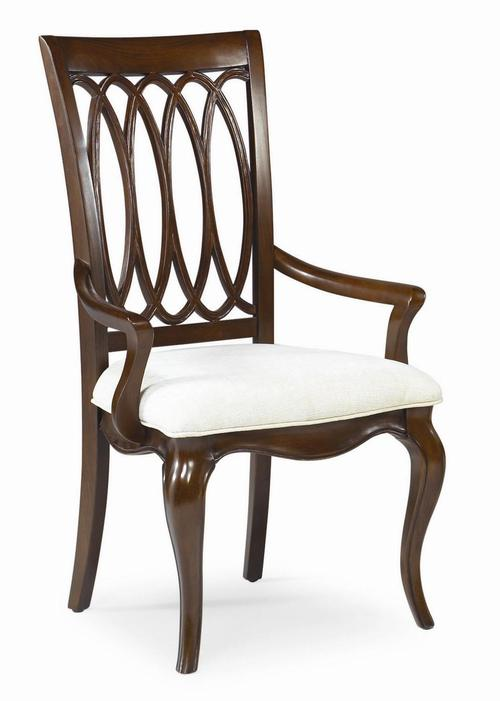American Drew Cherry Grove Dining Splat Back Arm Chair