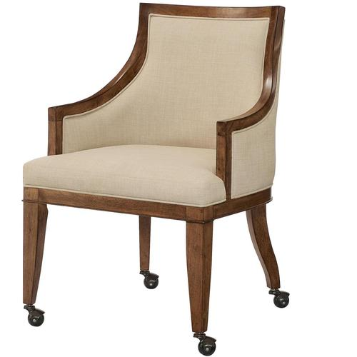 American Drew Grove Point Upholstered Dining Arm Chair