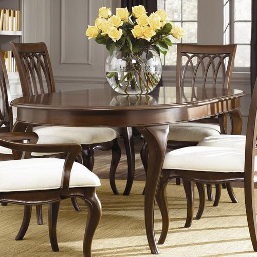 american drew cherry grove oval dining table