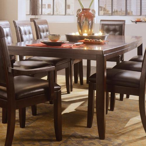 american drew tribecca rectangular leg formal dining table