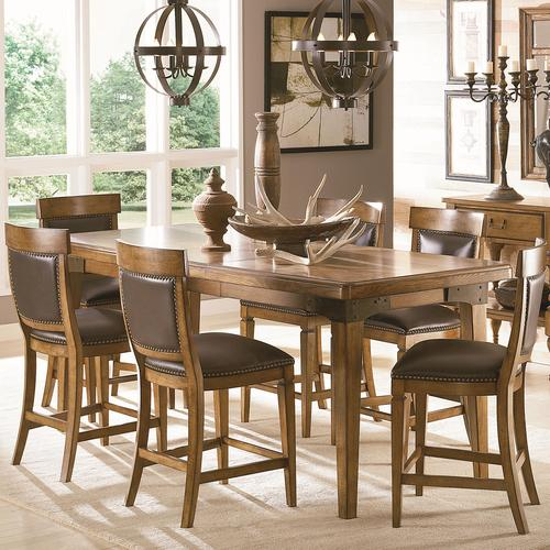 American Drew Americana Home 7 Piece Pub Height Table and  : 114 705 6x690 from www.mybeverlyhillsfurniture.com size 500 x 500 jpeg 55kB
