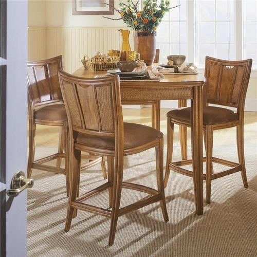 Antigua Bar Table With 4 Stools