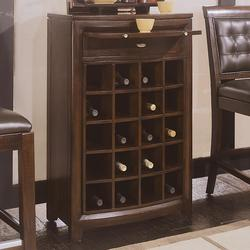 Tribecca Server with Pullout Tray and Wine Storage