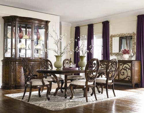 American Drew Jessica McClintock Couture Formal Dining