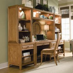 Antigua Desk Wall Unit